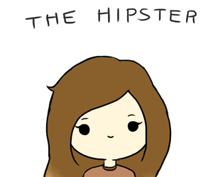hipster and drawing image