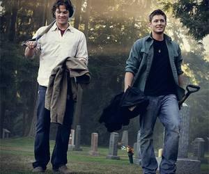 supernatural, dean, and Sam image