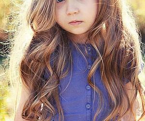 blue eyes, brunette, and long hair image