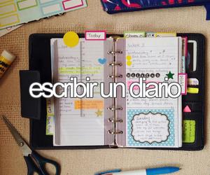 colors, diaries, and espanol image