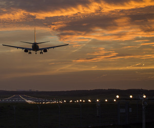 airplane, landscape, and plane image