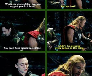 brothers, funny, and thor image