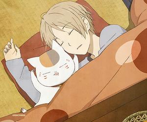 anime, nyanko, and natsume image