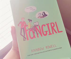 book, pretty, and rainbow rowell image