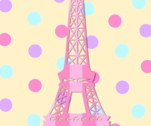 background, cute, and eiffel image