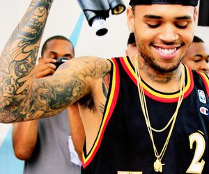 chrisbrown, babe, and breezy image