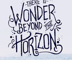 horizon, life, and quote image