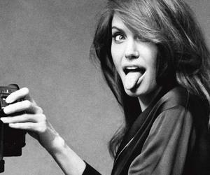 Angelina Jolie, black and white, and jolie image
