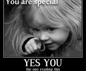special, you, and quote image