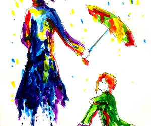 art, jojo, and umbrella image
