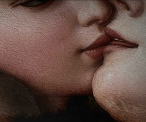 allegory, close up, and kiss image