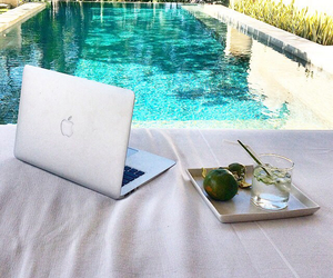 pool, luxury, and relax image
