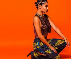black woman, fashion, and pretty image