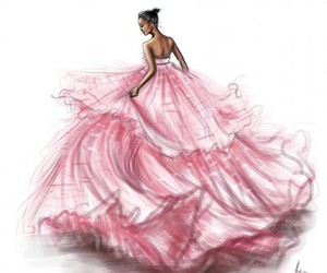 beauty, disegni, and dress image
