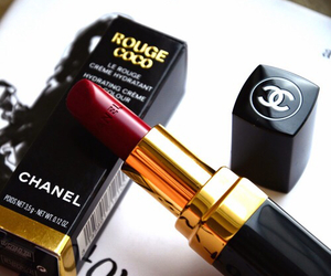 chanel, lipstick, and fashion image