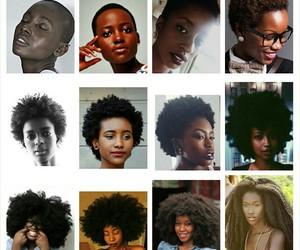 goals, hair, and natural hair image