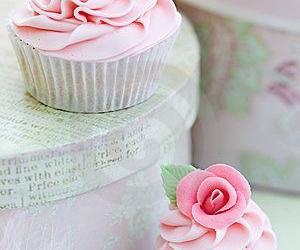 cake, cupcakes, and pastel image