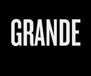 black, grande, and ag image