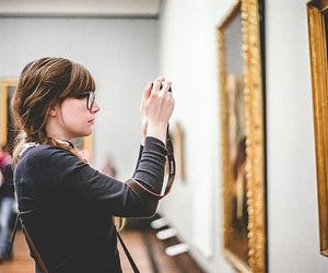girl, vintage, and art image