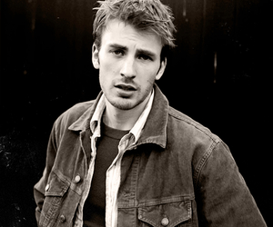 chris evans, handsome, and sexy image