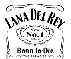 lana del rey, born to die, and jack daniels image