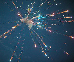fireworks, sky, and photography image
