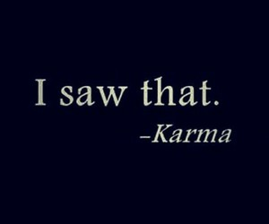karma, quotes, and text image