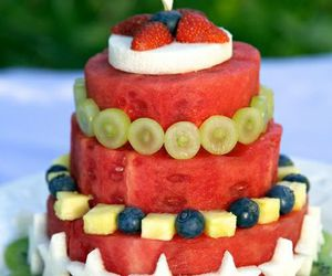 fruit, cake, and healthy image
