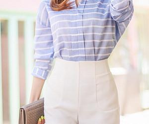 clutch, kfashion, and shorts image