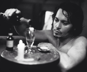 actor, depp, and handsome image