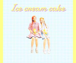 ice cream cake, joy, and kawaii image
