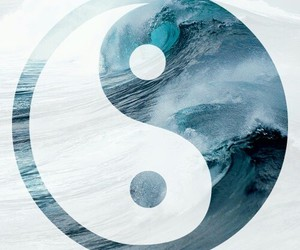 blue, ocean, and peace image