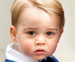 prince george and british image
