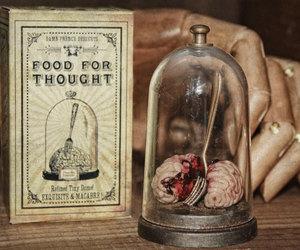 brain, creepy, and miniature image
