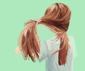 girl, illustration, and cute image