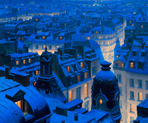 cold, winter, and france image