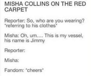 funny, interview, and misha image