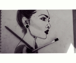 art, drawings, and my sketch image