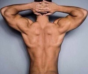 back, muscles, and hair image