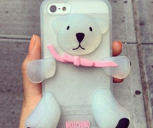 iphone, case, and Moschino image