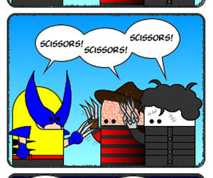 wolverine and Freddy image