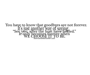 forever, goodbye, and text image