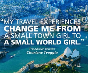 girl, small town, and small world image