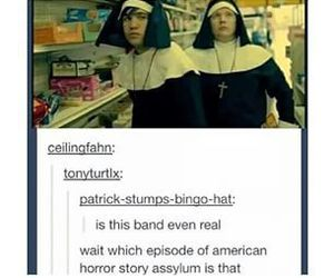 fall out boy, american horror story, and FOB image