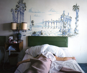 indie, room, and bed image