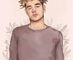 one direction, liam payne, and drawing image