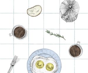 breakfast, illustration, and maori sakai image