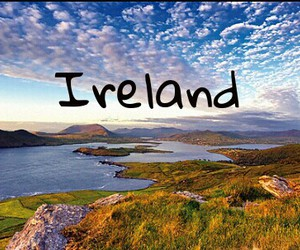country, ireland, and landscape image