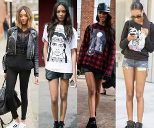 fashion, Jourdan Dunn, and long legs image