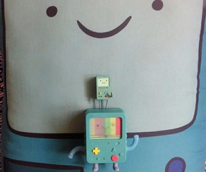 bmo, miniature, and pillow image